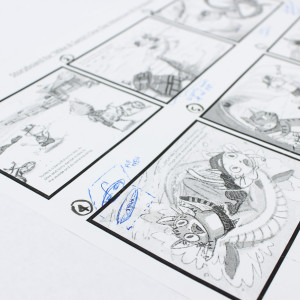 mike and samys ocean adventure storyboard process