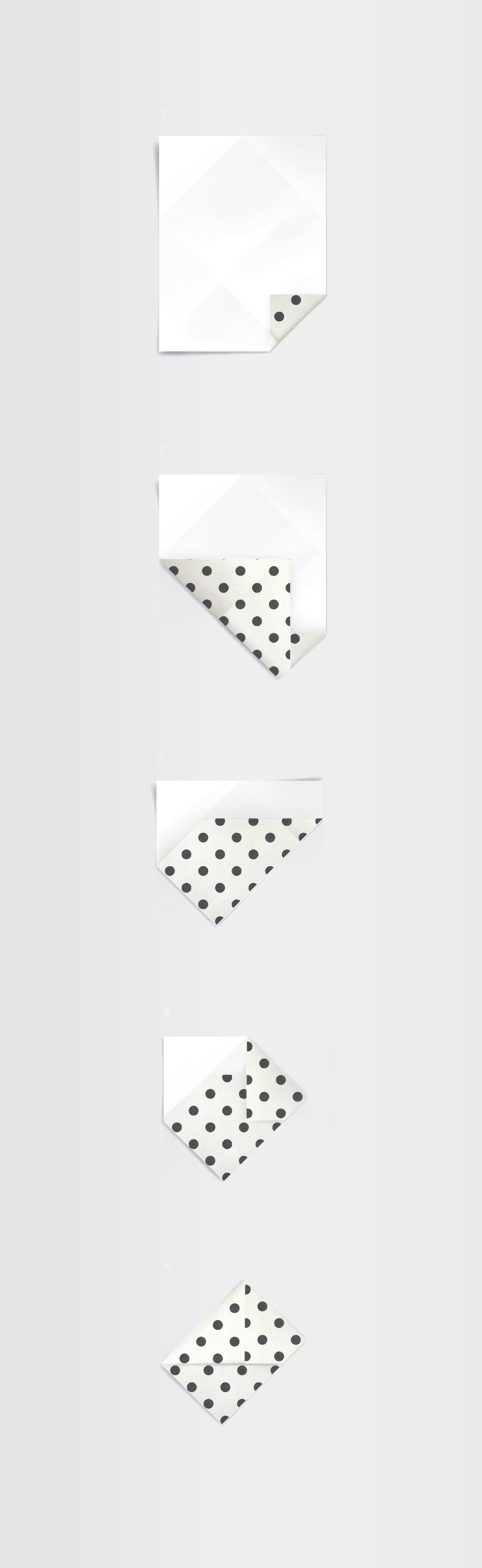 origami envelope_instructions dots