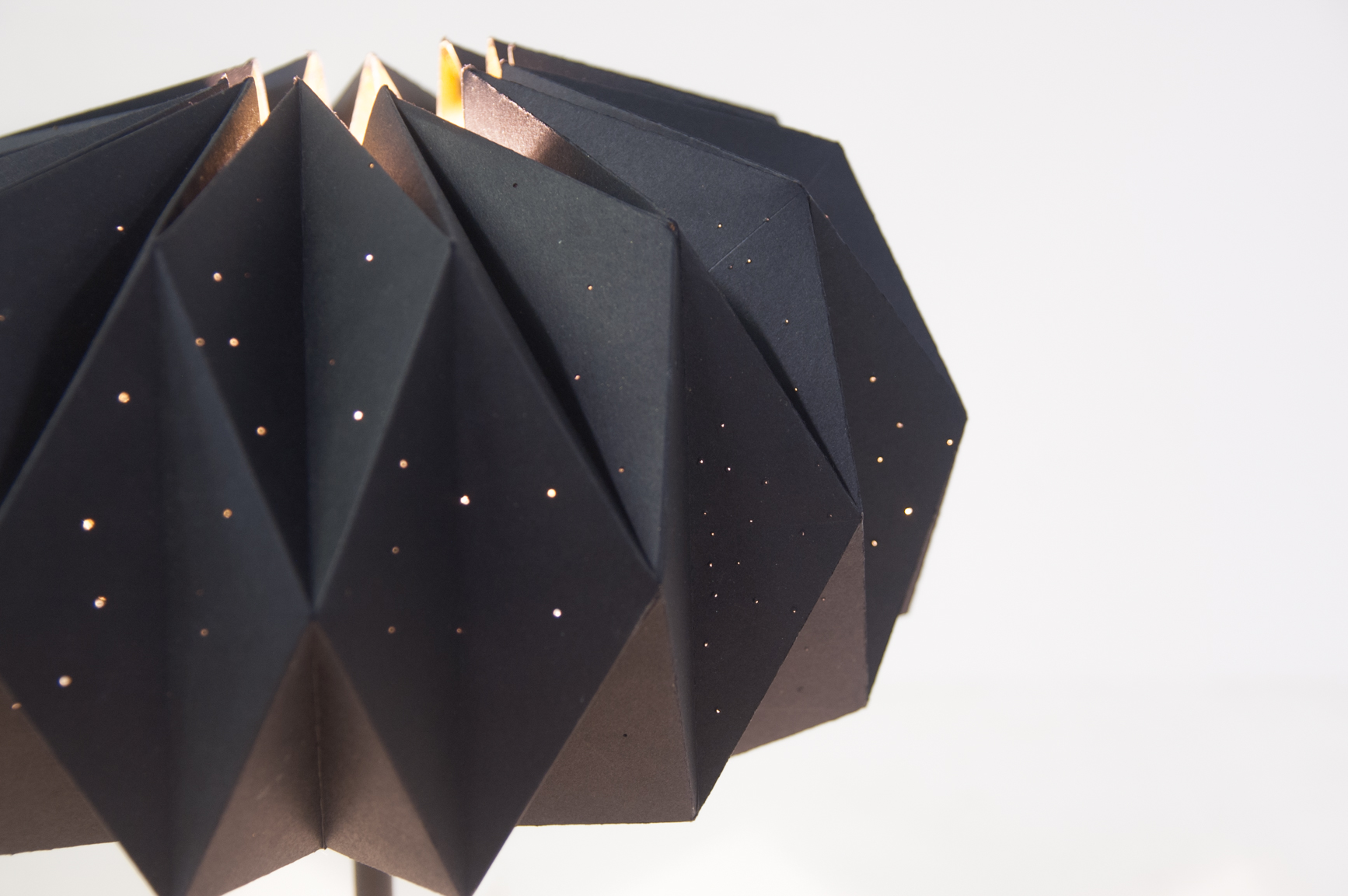 constellation origami lamps detail-2